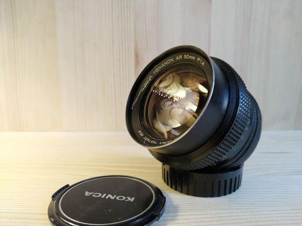 Объектив Konica Hexanon AR 50mm /f1.4