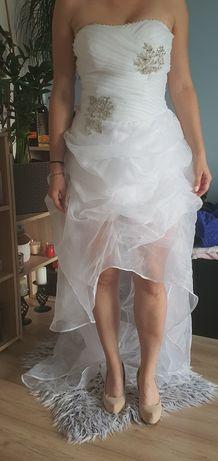 Sukienka suknia ślubna biała