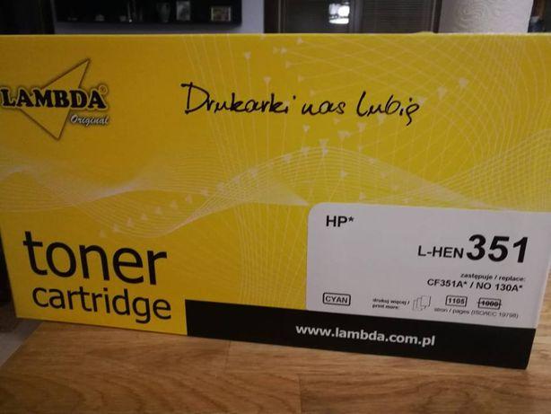Toner do drukarki HP Laser jet PROM 176N 308 - zamiennik cyan
