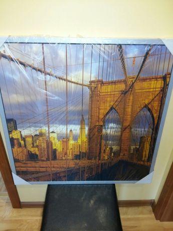 Obraz IKEA 80x80 cm New York.