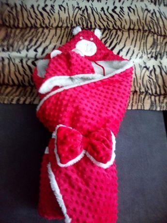 Продам конверт - одеяло и шапочка