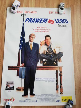 Plakat filmowy Prawem na lewo