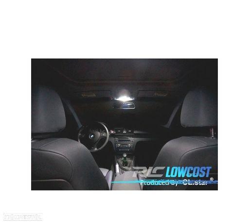 KIT COMPLETO DE 15 LÂMPADAS LED INTERIOR PARA BMW 1 SERIE E87 E81 116I 118D 118I 120D 120I 123D 130