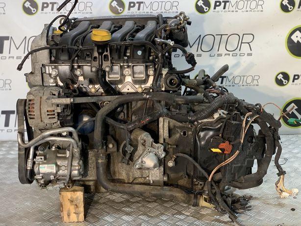 Motor RENAULT 1.6 K4M com instalação centralina e caixa automatica