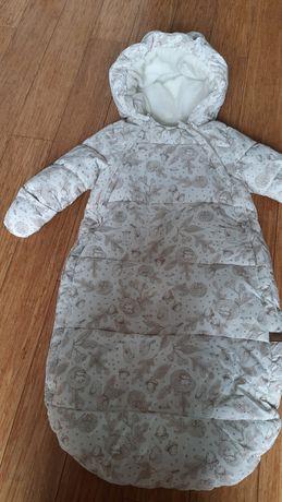 Kombinezon niemowlęcy śpiworek h&M 62-68cm