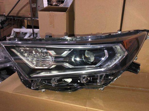 Toyota Rav 4 Фара левая (hybrid) 2019-20 бампер фонарь накладка