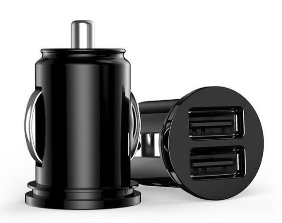 NOWA mini ładowarka pod zapalniczkę 2x USB adapter 5V/2.1A samochodowa