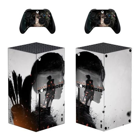 Naklejka ochronna | skin | skórka | okleina Xbox Series X + 2 pady