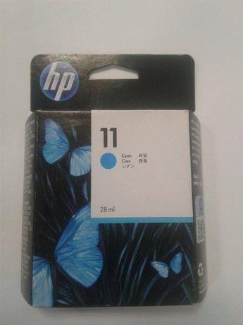Oryginalny nowy tusz HP 11 Cyan C4836A