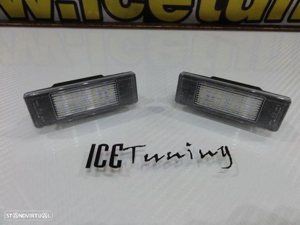 Suporte De Lâmpada De Matricula Com Led Branco Peugeot 406, 407, 508, 607 806 4008 5008 RCZ Expert