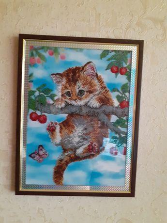 Продаётся картина бисером