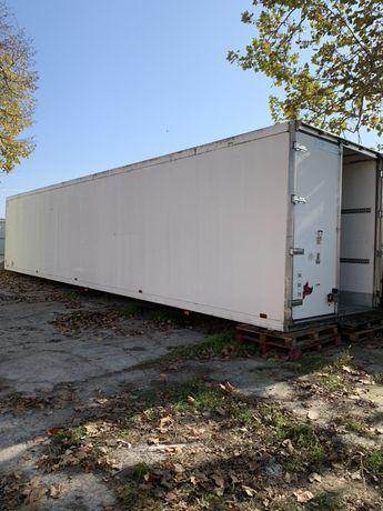 Будка изотерм с полуприцепа с холодильником 14 м. Без рамы.