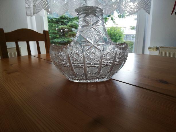 Kryształowy koszyk/miska PRL