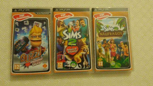 Conjunto 10 Jogos PSP