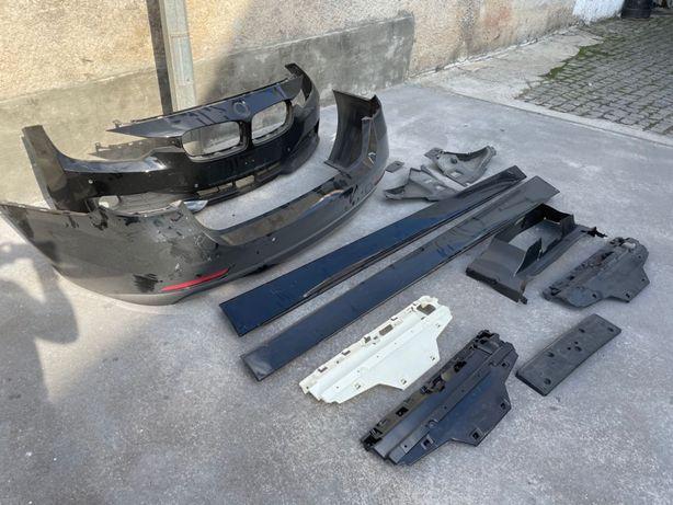 BMW F31 kit completo parachoques  e embaladeiras laterais sport line