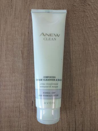 Mleczko kremowa emulsja oczyszczająca i maseczka 2 w 1 Anew Avon 150ml