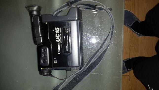maquina filmar antiga como nova em bom estado preta