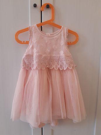 Śliczna sukienka chrzciny wesele next 86