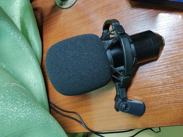 Микрофон bm-800 + звуковая карта