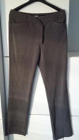 Klasyczne szare spodnie Quiosque, r. 40, na wysoki wzrost