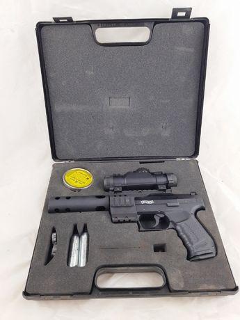 Wiatrówka Walther Nighthawk 4,5 mm UMAREX WALIZKA Plus Lombard