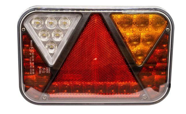 Lampa tylna LED Przyczepy Lawety 5 funkcji FT-270 P / L diodowa