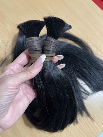 Натуральные Волосы для наращивания 70 см 210гр все за 220