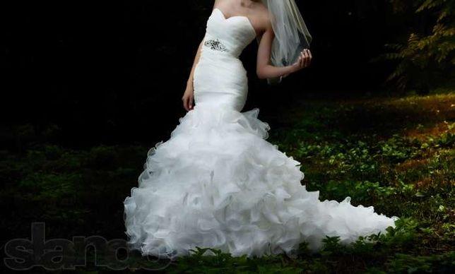 Продам свадебное платье,ультрамодное!