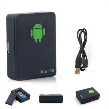 Tracker Mini A8 GPS предотвратит угон. Радиус до 10 м, трекер