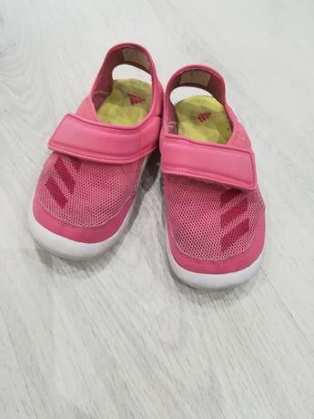 Sandałki adidas, sandałki skórzane lupilu