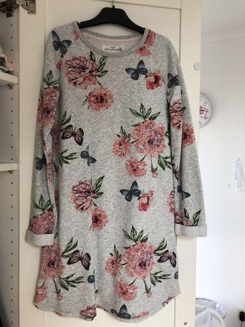 Sukienka z dzianiny h&m 140