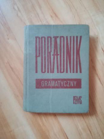 Książka Poradnik Gramatyczny PZWS