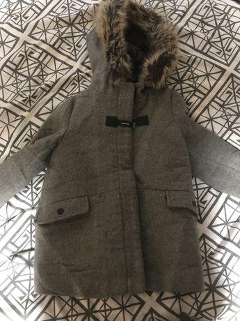 Пальто на девочку zara