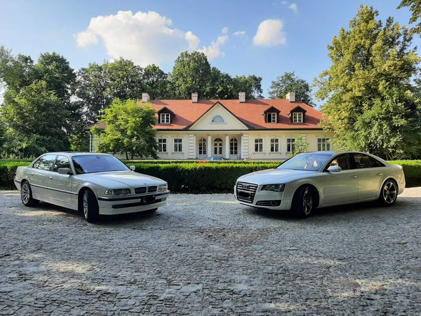 Auto do ślubu, Audi, BMW