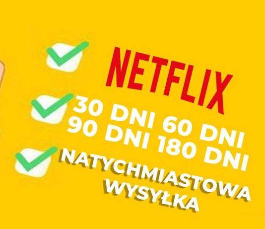 Działa na TV Netflix premium 4K UHD wysyłam natychmiast