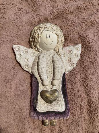 Ozdoba Aniołek z gipsu