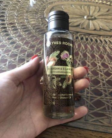 Orientalny olejek pod prysznic Yves Rocher olejek arganowy róża