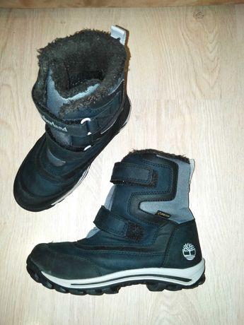 Термо ботинки сапожки Timberland с Gore-tex р.33