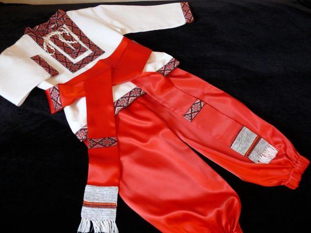 Костюм украинский, казак рост 86-152, костюм украинца, костюм козака