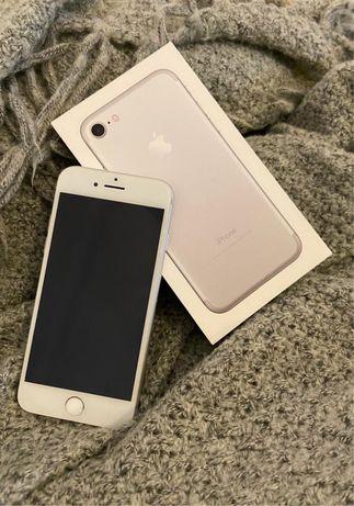 iPhone 7 biało-srebrny 100% sprawny