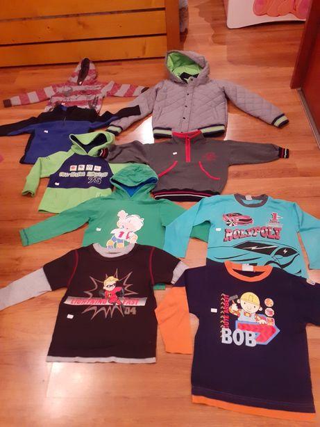 Kurtka zimowa, t-shirty, bluzy chłopięce 110-116, 116, 122, 128, 152