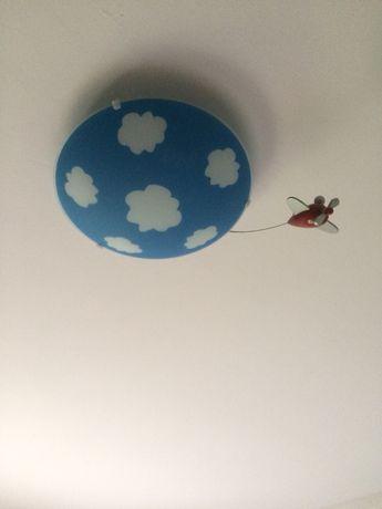 Candeeiro de teto de quarto de criança
