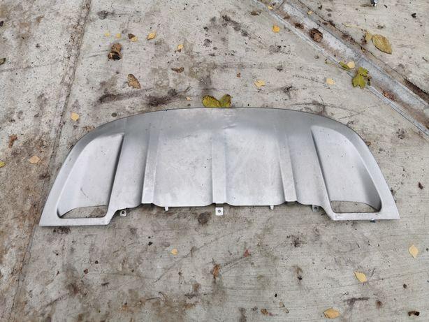 Cayenne 958 спойлер накладка  метал в передний бампер