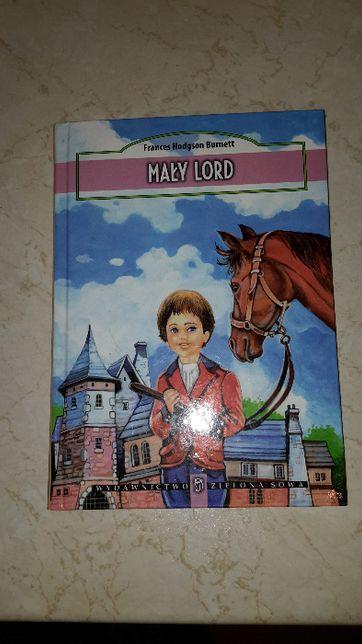 """Książka """"Mały Lord"""" Frances Hodgson Burnett"""