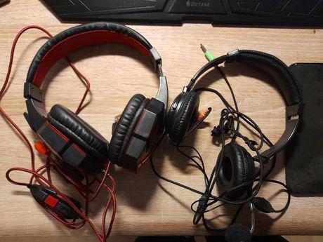 Słuchawki gamingowe i słuchawki esperanza