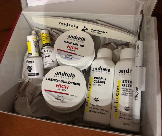 Hard Gel Pro Kit Andreia (Oferta verniz gel e molde)