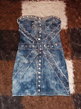 Джинсова сукня 40 розмір