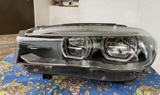 Левая фара BMW X5 X6 F15 F16 full led USA