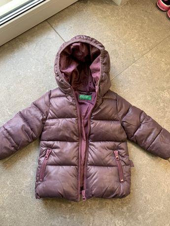 Курточка зимняя benetton 9-12 месяцев