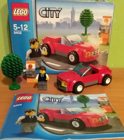 LEGO CITY 8402 samochód sportowy